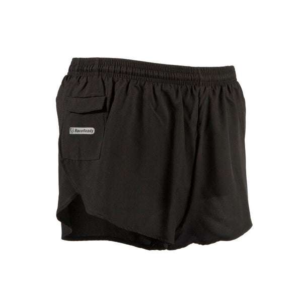 Men's LD Split-Cut Short - BLACK