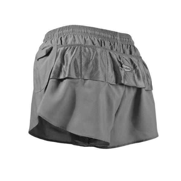 Women's LD Split Cut Short - Charcoal
