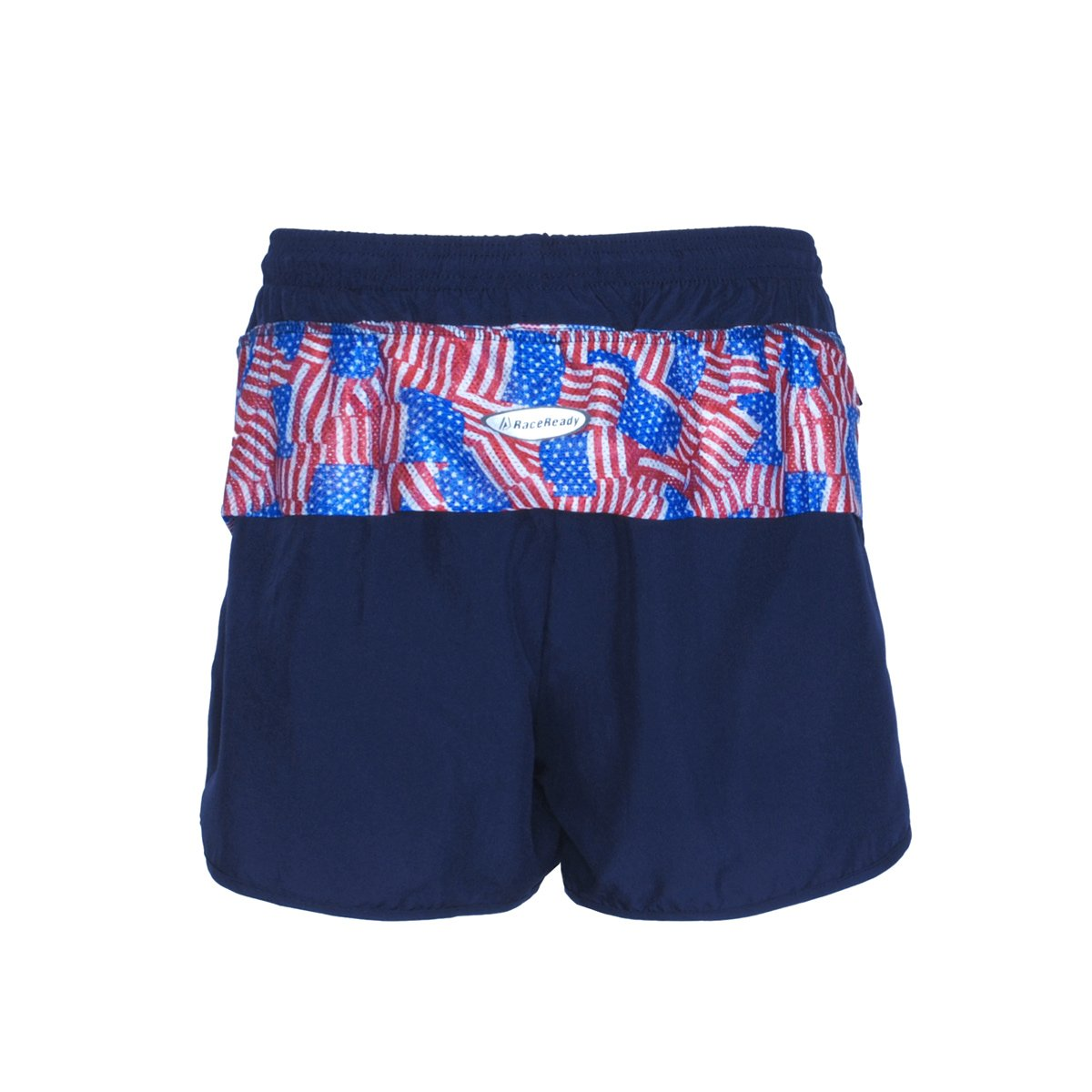 Men's LD V-Notch Short - Navy w/Flag
