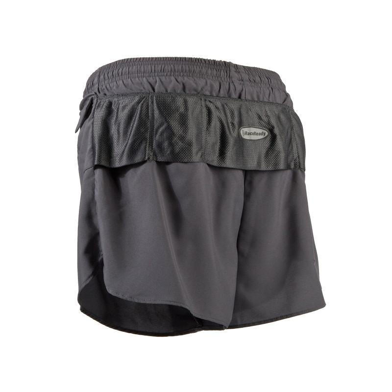 Women's LD V-Notch Short - Charcoal