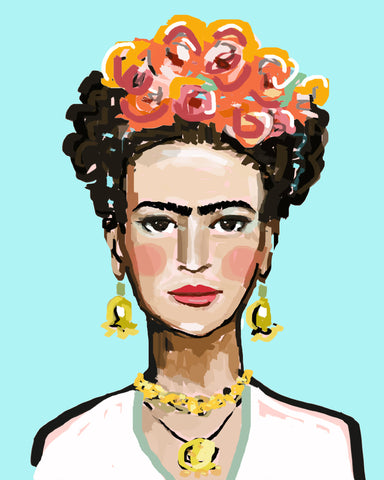 Frida Kahlo, Print on paper or canvas