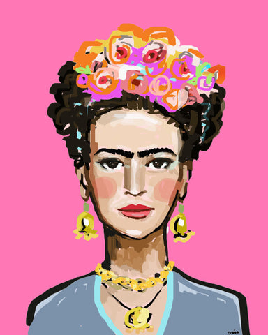 Print of Frida Kahlo, Print on paper or canvas