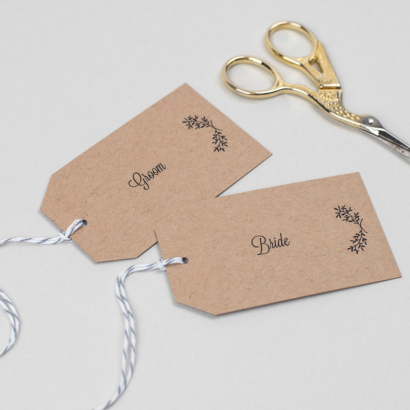 Perfect Day Place Card Tags