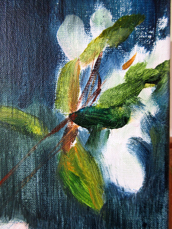 April-Sky-Blossoming-Lies-Goemans-40x110-cm-flower-painting-floral-flower-apple-blossom-bloemschilderij-detail