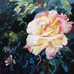 dark-nature-up-close-heaven-scent-Lies-Goemans-painting-flower-schilderij-floral-100x100cm-basis-square20