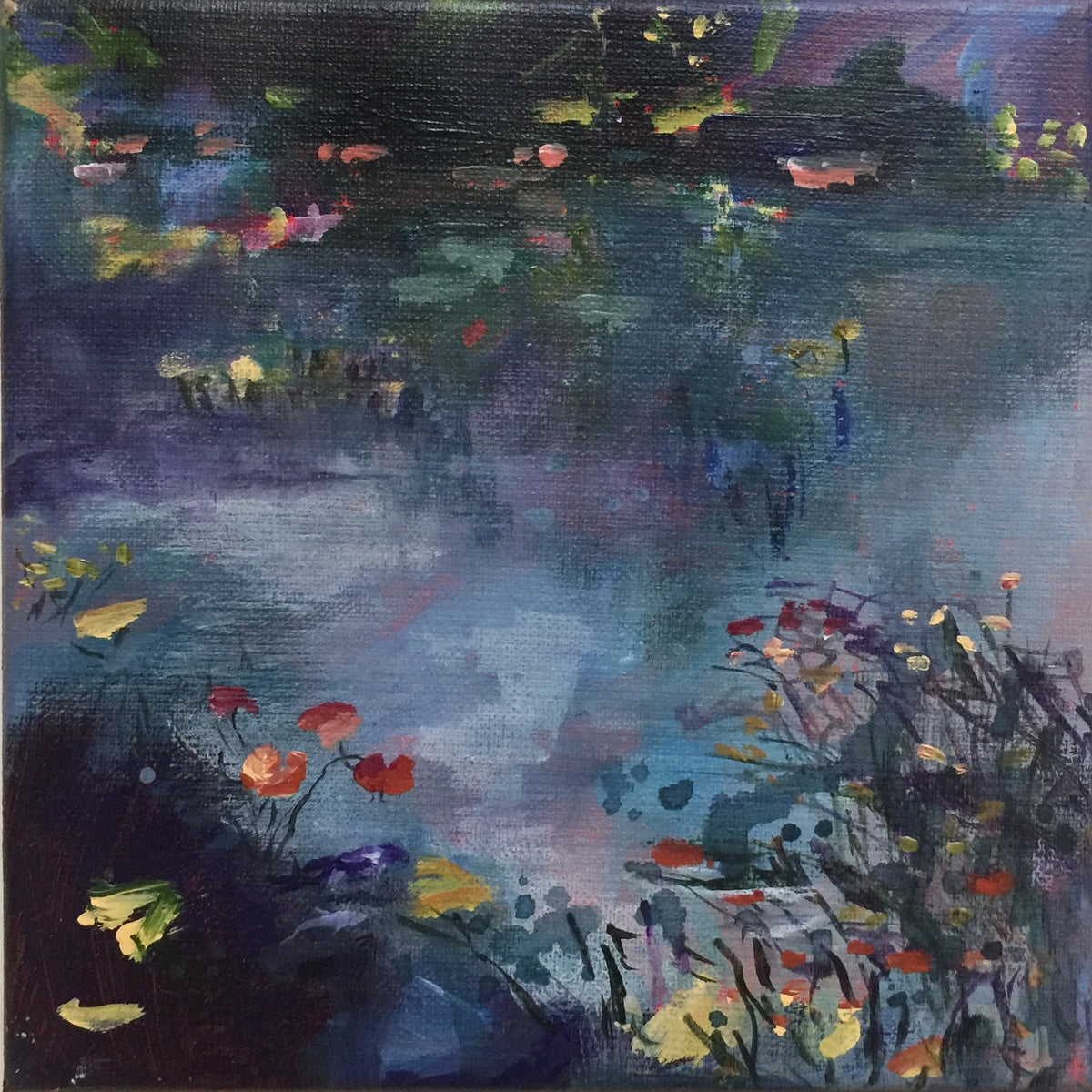 Floating-By-Lies-Goemans-waterscape-painting-20x20cm