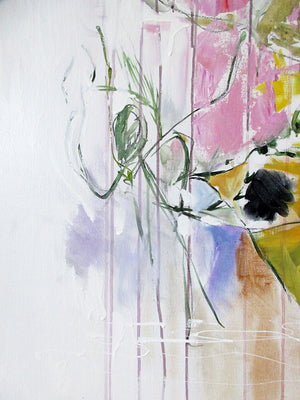 FloralPoetry-crying-for-jackie-Lies-Goemans-painting-flower-schilderij-floral-140x200cm-detail 2