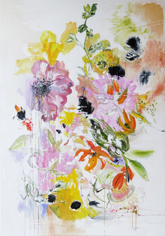 FloralPoetry-crying-for-jackie-Lies-Goemans-painting-flower-schilderij-floral-140x200cm-basis
