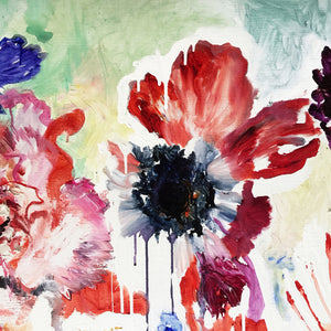FloralPoetry-songs-from-the-heart-Lies-Goemans-painting-flower-schilderij-floral-140x200cm-detail-1