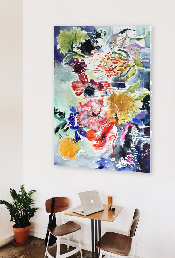 FloralPoetry-songs-from-the-heart-Lies-Goemans-painting-flower-schilderij-floral-140x200cm-interior-impression-2b