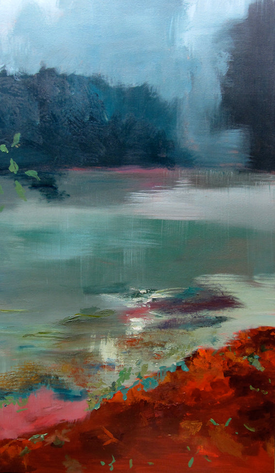 series-moments-in-france-grand-morin-Lies-Goemans-painting-landscape-water-schilderij-120x200cm-basis