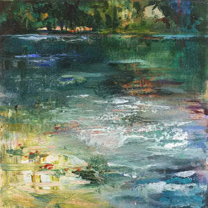 Paradiso-Lies-Goemans-waterscape-painting-20x20cm