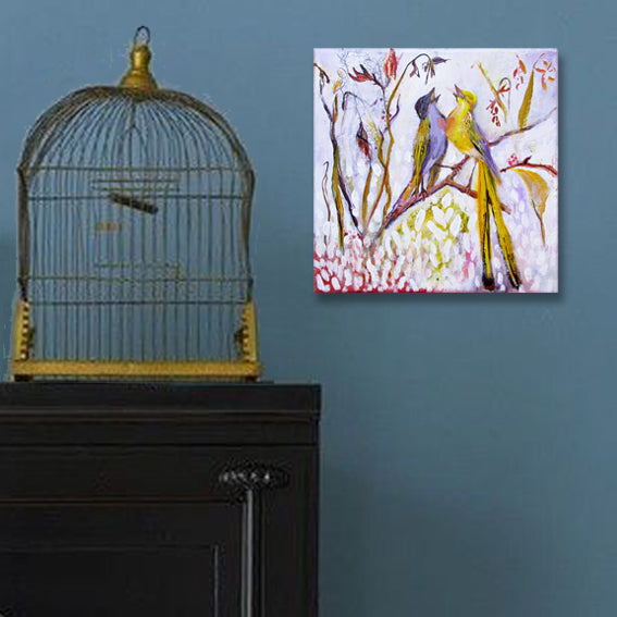 Song-Of-Love-lies-goemans-painting-birds-interior-impression