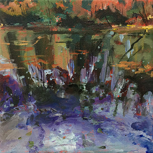 Waterstories-whispers-autumnwaters-06C-Lies-Goemans-waterscape-painting-20x20cm-basis
