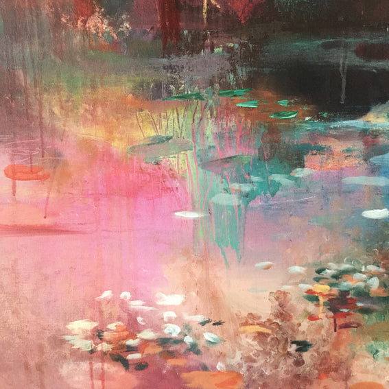 What-Lies-Beneath-17-Lies-Goemans-painting-water-schilderij-waterscape-100x100cm-detail2