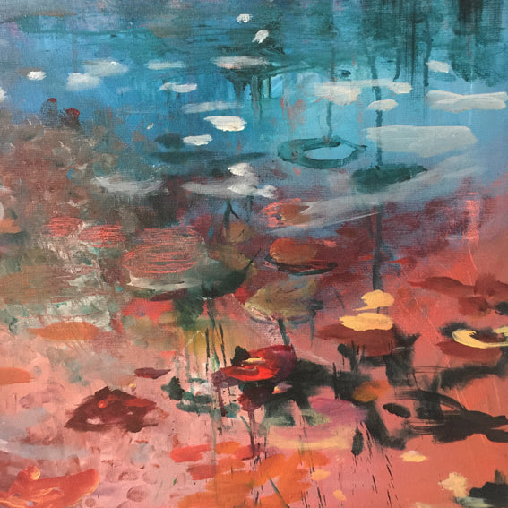 What-Lies-Beneath-17-Lies-Goemans-painting-water-schilderij-waterscape-100x100cm-detail3
