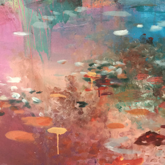 What-Lies-Beneath-17-Lies-Goemans-painting-water-schilderij-waterscape-100x100cm-detail4
