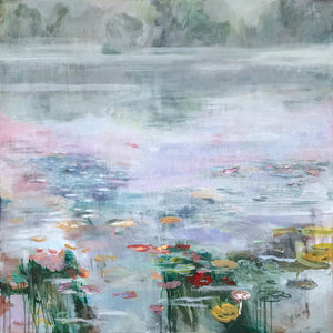 What-Lies-Beneath-18-Lies-Goemans-painting-water-schilderij-waterscape-100x100cm-basis