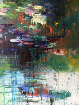 What-Lies-Beneath-20-Lies-Goemans-painting-water-schilderij-waterscape-100x100cm-detail-2