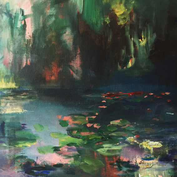 What-Lies-Beneath-20-Lies-Goemans-painting-water-schilderij-waterscape-100x100cm-detail-3