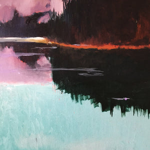 What-Lies-Beneath-24-Lies-Goemans-painting-water-schilderij-waterscape-100x100cm-detail-2