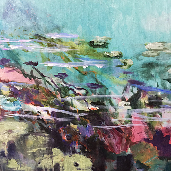 What-Lies-Beneath-24-Lies-Goemans-painting-water-schilderij-waterscape-100x100cm-detail-4