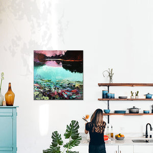 What-Lies-Beneath-24-Lies-Goemans-painting-water-schilderij-waterscape-100x100cm-interior-impression
