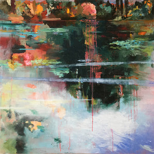 What-Lies-Beneath-27-Lies-Goemans-painting-water-schilderij-waterscape-100x100cm-basis