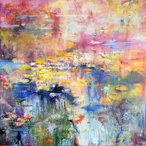 What-Lies-Beneath-29-Lies-Goemans-painting-water-schilderij-waterscape-100x100cm-basis