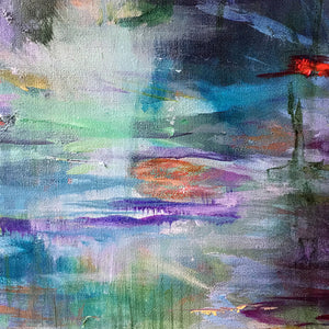 What-Lies-Beneath-30-Lies-Goemans-painting-water-schilderij-waterscape-100x100cm-detail-1