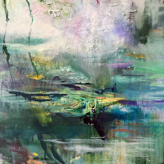 What-Lies-Beneath-30-Lies-Goemans-painting-water-schilderij-waterscape-100x100cm-detail-2