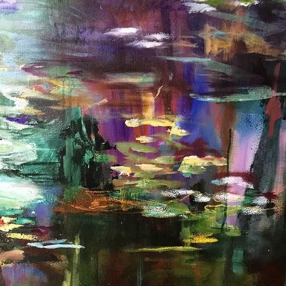 What-Lies-Beneath-30-Lies-Goemans-painting-water-schilderij-waterscape-100x100cm-detail-3