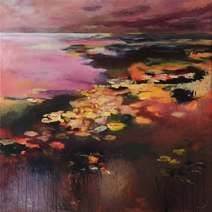 What-Lies-Beneath-32-Lies-Goemans-painting-water-schilderij-waterscape-100x100cm-basis-square
