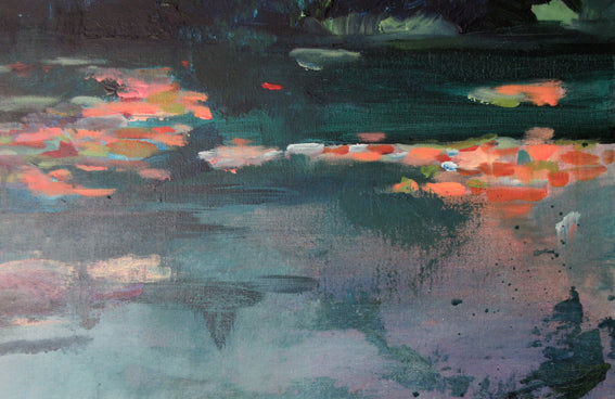What-Lies-Beneath-6-Lies-Goemans-painting-water-schilderij-waterscape-100x100cm-detail1