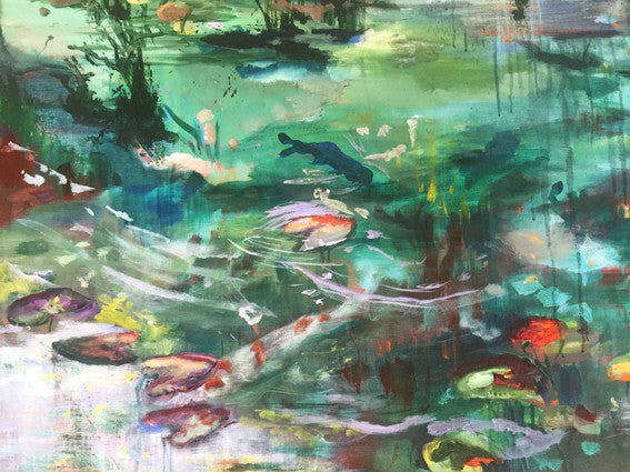 What-Lies-Beneath-II-Lies-Goemans-painting-water-100x100cm-detail2