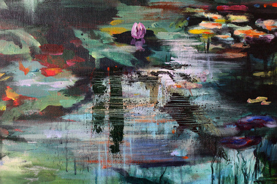 What-Lies-Beneath-2-Lies-Goemans-painting-water-100x100cm-detail3
