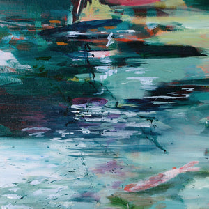 What-Lies-Beneath-Lies-Goemans-painting-water-100x100cm-museum-de-fundatie-detail