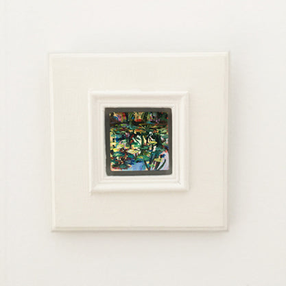 no.1109-lies-goemans-miniature-painting-water-mirror-in-big-white-frame