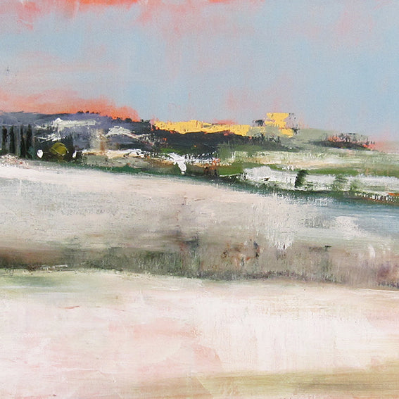 series-moments-in-france-Chauffry-hiver-2-Lies-Goemans-50X150cm-painting-landscape-france-groot-schilderij-frankrijk-winter-landschap-detail-2