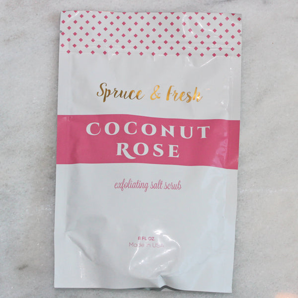 Salt Scrub - Coconut Rose
