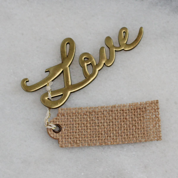 Bottle Opener - Love