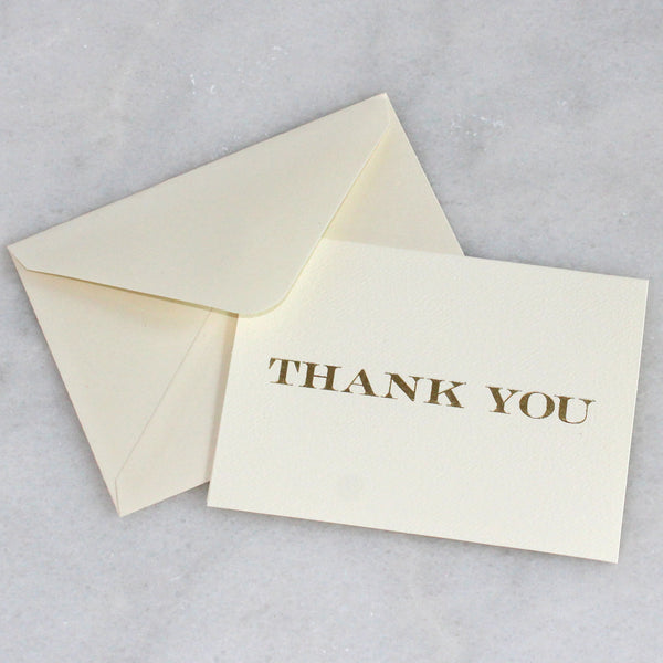 Card - simple THANK YOU
