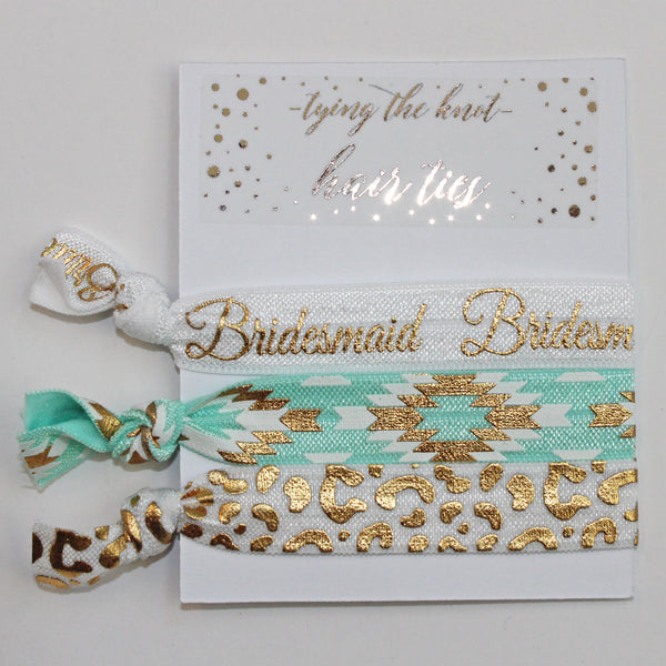 Bridesmaid Hair Ties - II