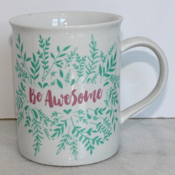 Mug - Be Awesome - Pink