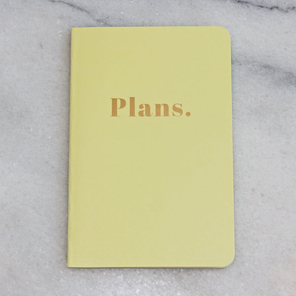 Journal - Small - Plans.