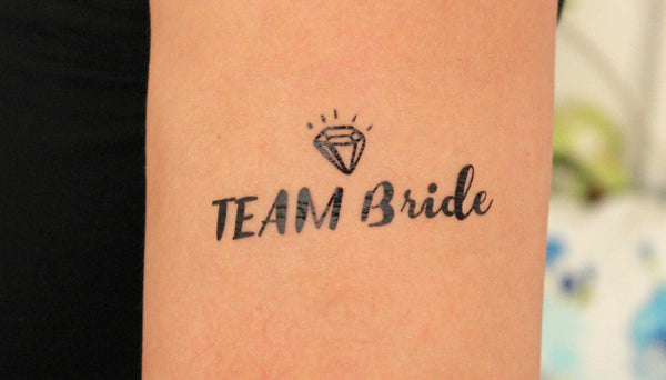 Temp Tattoo - Team Bride