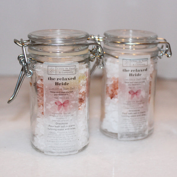 The Relaxed Bride - BATH SALT