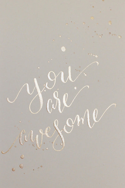 Postcard - you are awesome