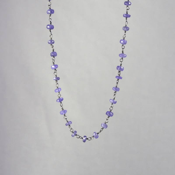 Devon Road Iolite Rosary Beads