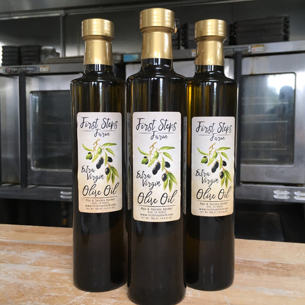 Local Freshly Pressed Extra Virgin Olive Oil